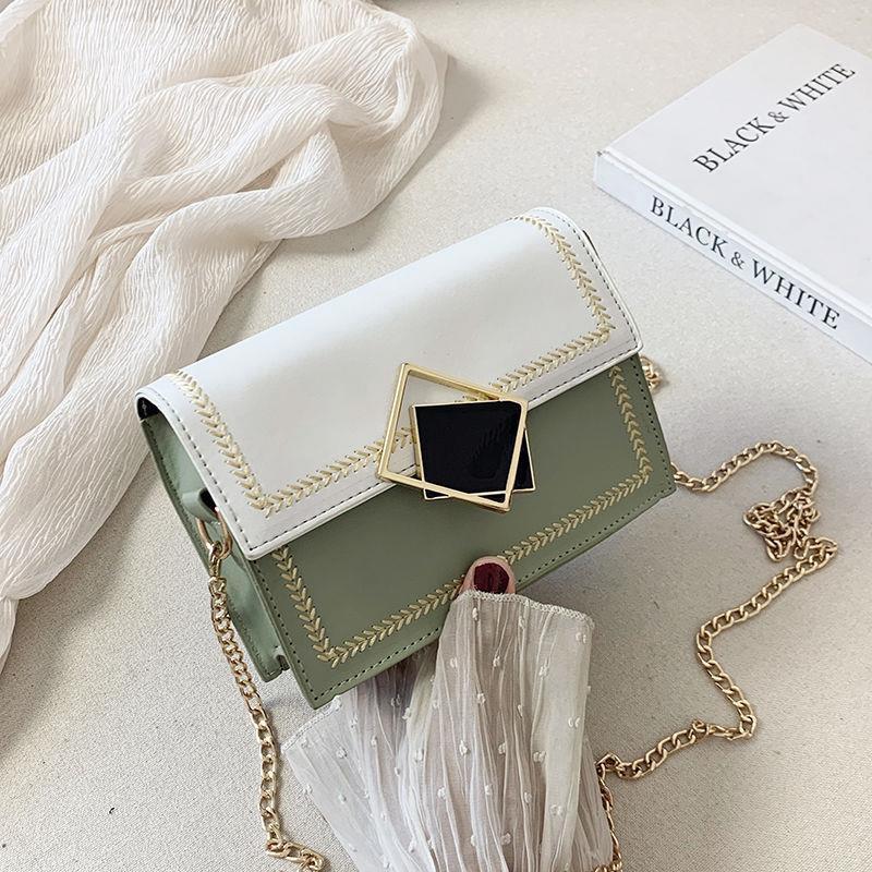 Túi xách đeo chéo nữ phối màu sành điệu cho nữ HN357