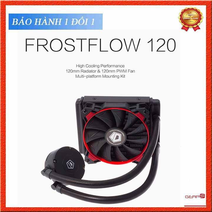 Tản nhiệt nước CPU IDCooling FrostFlow 120L Red Led - AIO Liquid Cooling