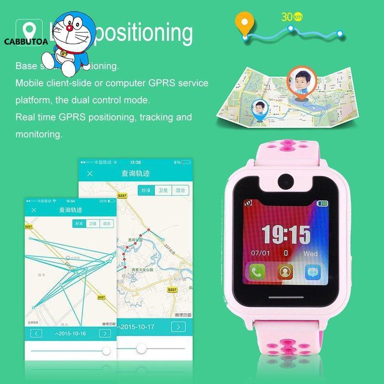 Đồng Hồ Thông Minh S6 1.54 Inch Màn Hình Cảm Ứng Led Kỹ Thuật Số Thời Trang Cho Bé