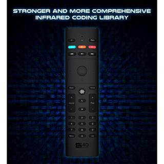 QUK ETDD Điều khiển chuột bay tìm kiếm giọng nói G40s 33 keys – Remote Mouse Air Voice IR 44 21