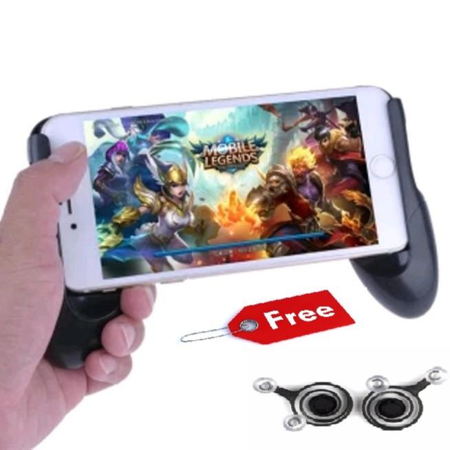 Giá Đỡ Tay Cầm Chơi Game Liên Quân Tặng 1 Bộ nút game Mobile Joystick