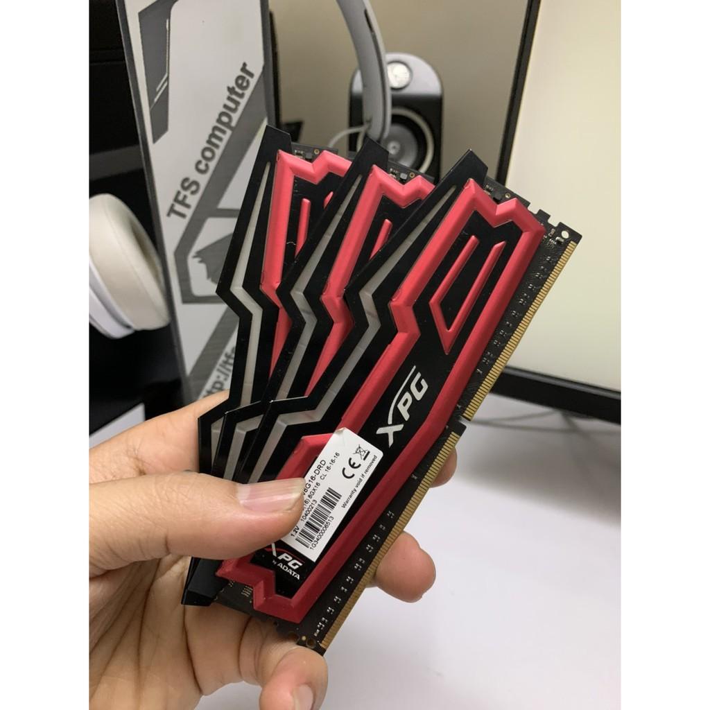 Ram ddr4 XPG 8G 2400 Red Pulse