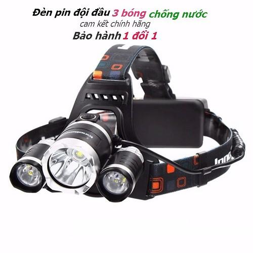 (Free Ship )Đèn pin Led siêu sáng đội đầu 3 bóng (Đen) nhiều chế độ - 3419505 , 509896690 , 322_509896690 , 138000 , Free-Ship-Den-pin-Led-sieu-sang-doi-dau-3-bong-Den-nhieu-che-do-322_509896690 , shopee.vn , (Free Ship )Đèn pin Led siêu sáng đội đầu 3 bóng (Đen) nhiều chế độ