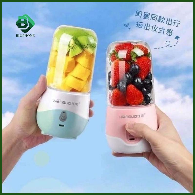 Máy xay sinh tố cầm tay mini VST68 pin sạc, máy xay sinh tố cầm tay đa năng say đước đá