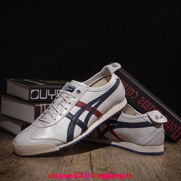 Asics รองเท้าผู้ชายและผู้หญิง MEXICO 66 SD / D838L-9058 / Vietnam / น้ำเงิน <P1>