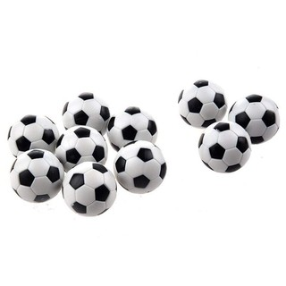 6PCS Small Football Style Table Ball Foosball Hard Plastic Table Ball Countn Toy