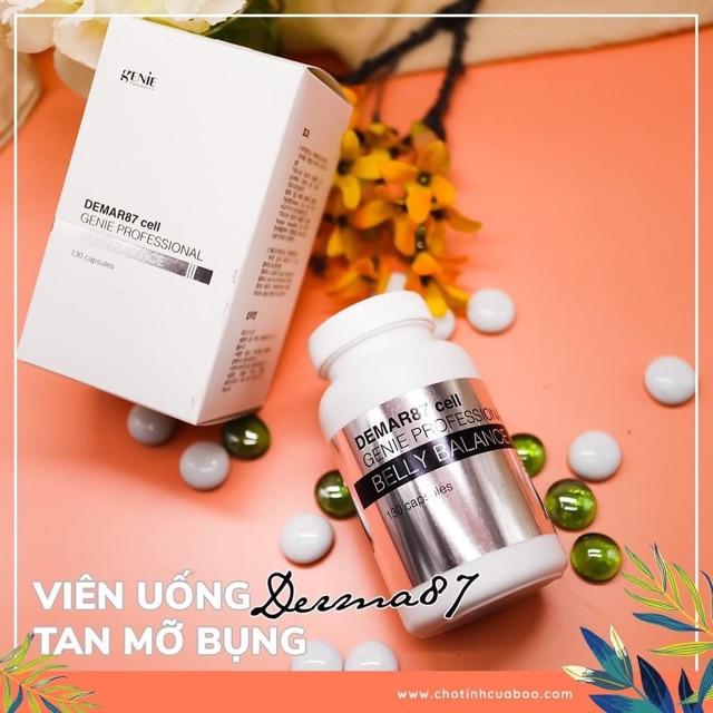 [HCM][Sale] Viên Uốn Huỷ Mỡ Bụng Belly Genie Mẫu Mới [Hot] - 30V Ún 10 Ngày