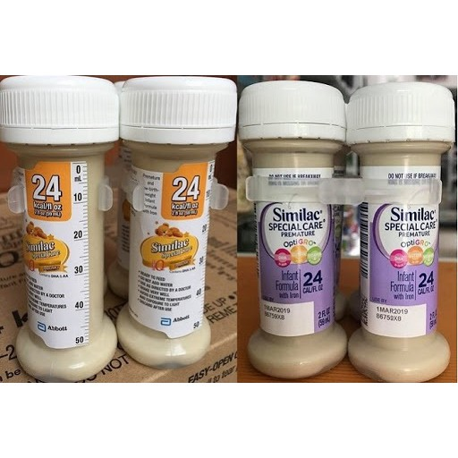 Sữa Similac Special Care S24 , Similac Neosure S22, Mỹ (Thùng 48lọ)