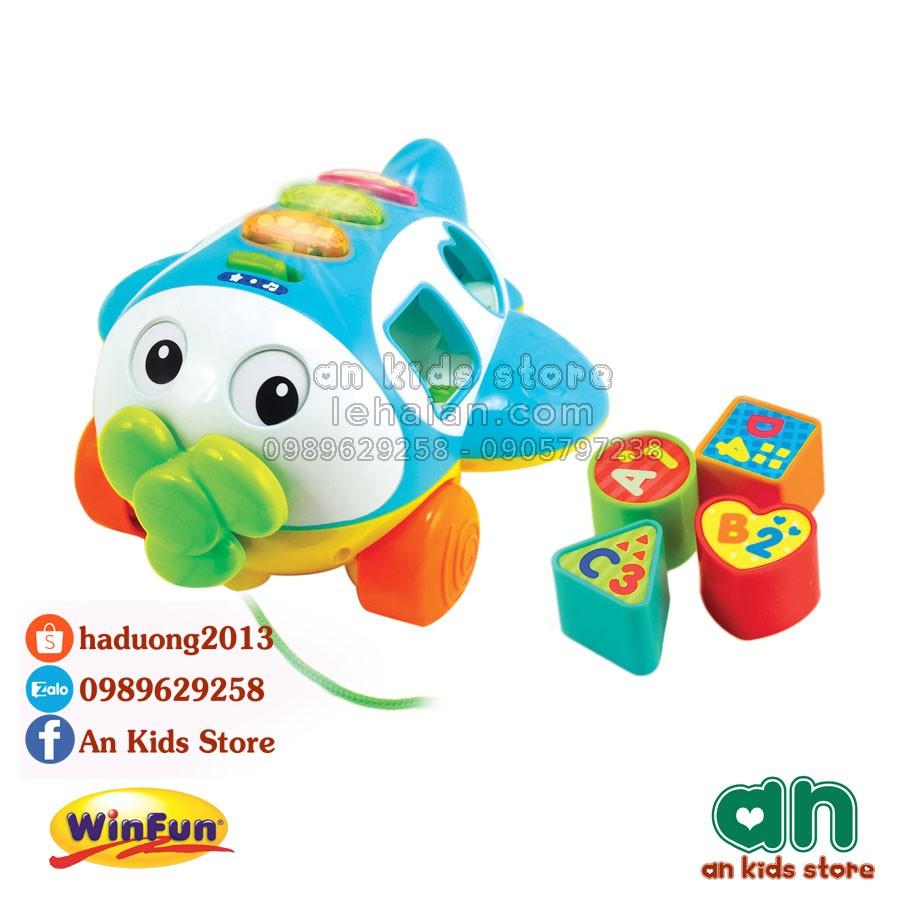Máy bay thả hình khối có nhạc Winfun 1505 - Hàng chính hãng - 2743150 , 820649190 , 322_820649190 , 338000 , May-bay-tha-hinh-khoi-co-nhac-Winfun-1505-Hang-chinh-hang-322_820649190 , shopee.vn , Máy bay thả hình khối có nhạc Winfun 1505 - Hàng chính hãng