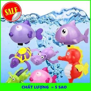 [HOT] Combo 150 con thú bơi vặn cót