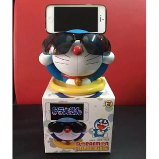 Mô hình Doreamon kiêm giá đỡ điện thoại mắt kiếng