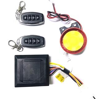 Bộ Chống trộm xe máy có 2 remote Audi cho xe HONDA, YAMAHA (2018)