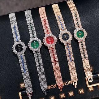 Đồng hồ thời trang nữ DZG M655 mẫu dính đá mặt nhiều màu cực sang CS5441