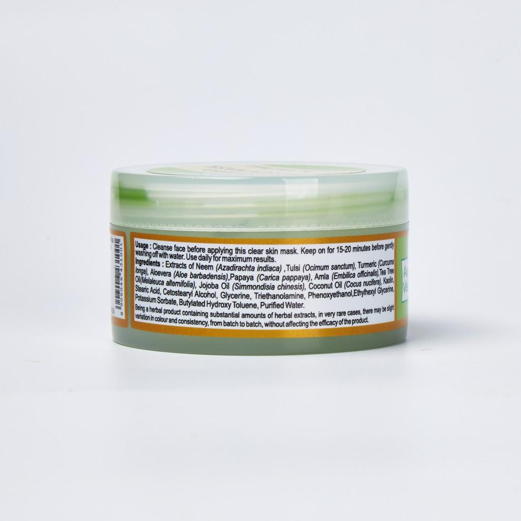 Hình ảnh [COSMALL25 giảm 30K] Mặt Nạ Neem Trị Mụn AuraVedic Anti Blemish Clear Skin 50g-3