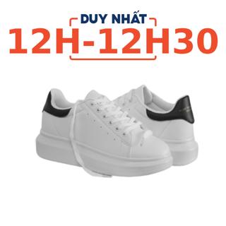 """[Mã MABRHVMS hoàn 10% xu đơn 350K] Giày Domba gót đen H-9111 giá chỉ còn <strong class=""""price"""">69.900.000.000đ</strong>"""