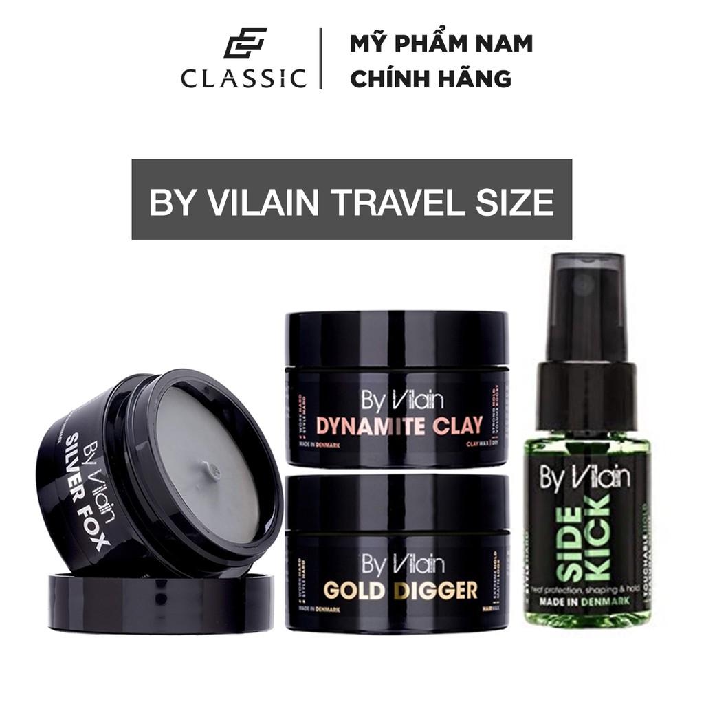 Sáp vuốt tóc By Vilain Gold Digger | Dynamite Clay Travel Size 15g
