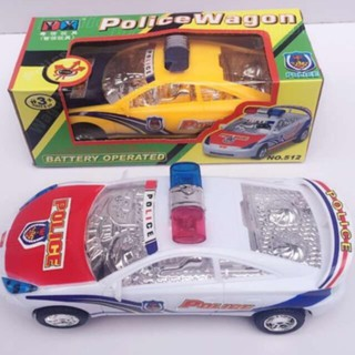 Xe cảnh sát chạy Pin