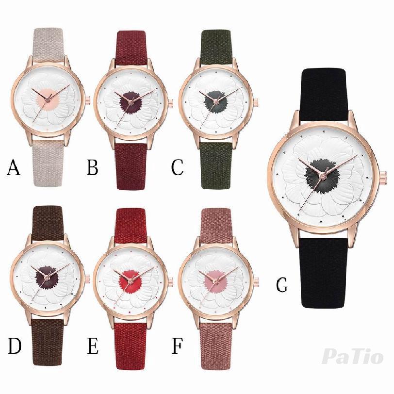 นาฬิกาแฟชั่นเกาหลีรูปแบบบุคลิกภาพผู้หญิงนาฬิกาควอทซ์ 766