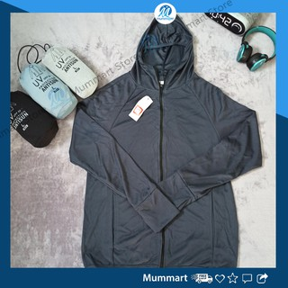 [ Hoàn xu extra] Áo khoác chống nắng nam ngăn tia UV, chất vải kim cương, áo khoác nam nhẹ, vải mát, có mũ, tay dài ph
