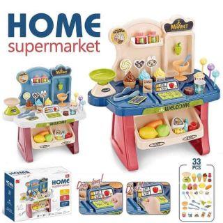 Bộ đồ chơi quầy bán hàng xuất khẩu 33 chi tiết