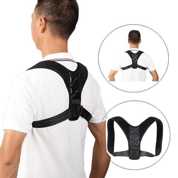 Đai chống gù,đai chống khòm lưng Posture Corrector cho văn phòng,chơi thể thao...