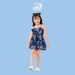 Váy Denim Bé Gái (Từ 01 - 06 Tuổi) K's Closet B130TES TMMN (Váy Dáng Nhỏ)