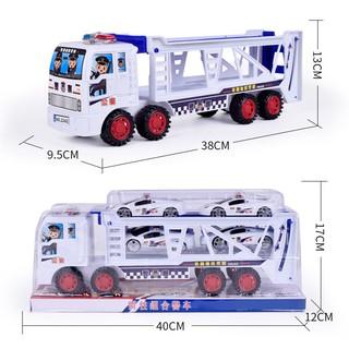 Xe đồ chơi chở xe ô tô cho bé – 5901