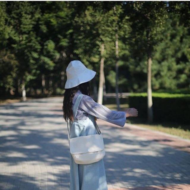 Túi Chéo 🦋 Túi đeo chéo chất vải Canvas dáng Unisex 2 màu 🦋