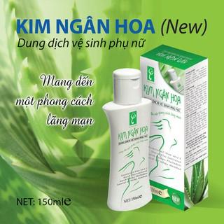 Dung dịch Vệ sinh phụ nữ Kim Ngân Hoa 150 ml thumbnail