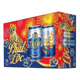 Thùng bia Tiger 24 lon 330ml/lon