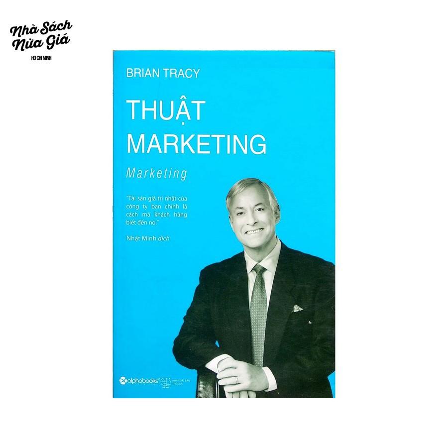 Sách-Brian Tracy-Thuật marketing tái bản 2018