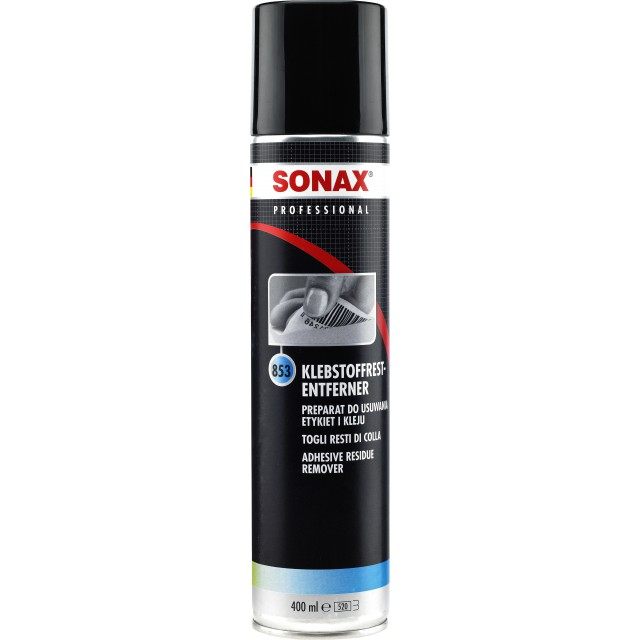 Dung dịch tẩy băng keo, vệ sinh khe kẽ - Sonax Professional Adhesive Residue Remover