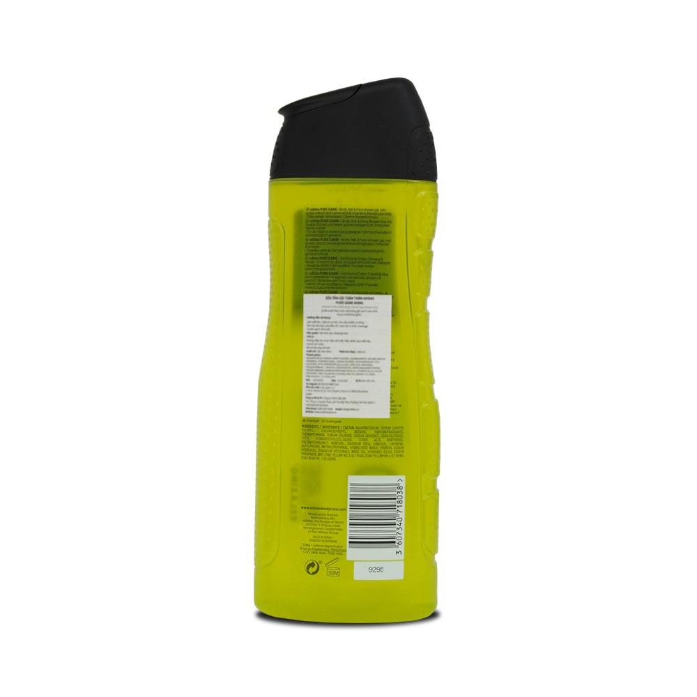 Sữa Tắm Gội Toàn Thân Nam Adidas Pure Game 400ml