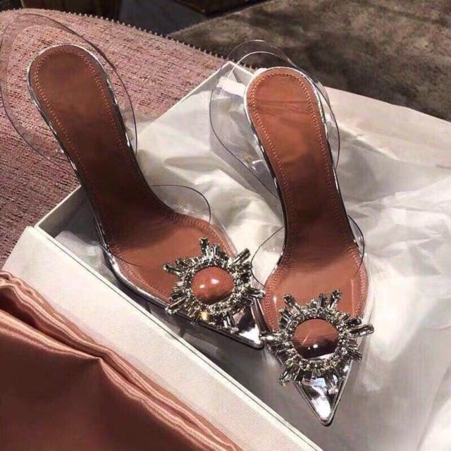 Giày cao gót Đính đá sang chảnh
