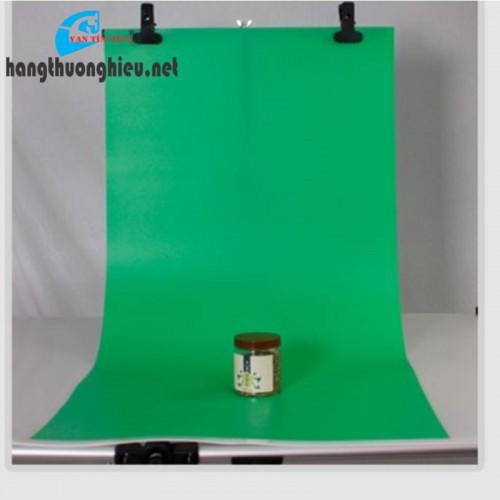 phông nền chụp hình bằng nhựa pvc xanh lá (1m x 1m)