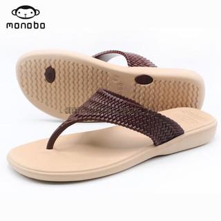 Dép tông nữ Thái Lan MONOBO - MONIGA 5.5 - BE QUAI NÂU thumbnail