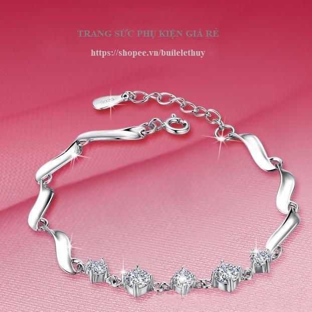 Lắc tay nữ phong cách Hàn Quốc, Xi bạc ý 925, nhỏ xinh cực cool, sale giá rẻ - 3230889 , 1014481163 , 322_1014481163 , 180000 , Lac-tay-nu-phong-cach-Han-Quoc-Xi-bac-y-925-nho-xinh-cuc-cool-sale-gia-re-322_1014481163 , shopee.vn , Lắc tay nữ phong cách Hàn Quốc, Xi bạc ý 925, nhỏ xinh cực cool, sale giá rẻ
