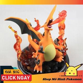 Mô hình Pokemon Charizard phun lửa 16cm ( Giá rẻ)