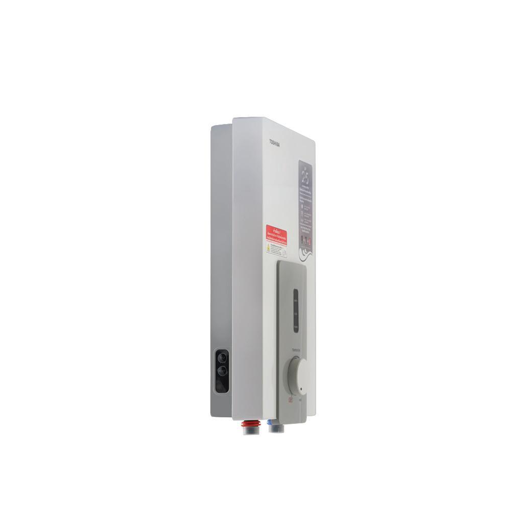 เครื่องทำน้ำอุ่น Toshiba รุ่น DSK45S5KW 4,500 วัตต์ (หม้อต้มความร้อน+ขดลวดทองแดง) รับประกัน 5 ปี
