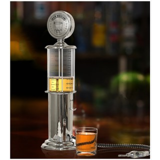 Bình Rót Nước Cây Xăng 1 Vòi 1 Lít - Bình rót rượu cây xăng 1 vòi 1 lít