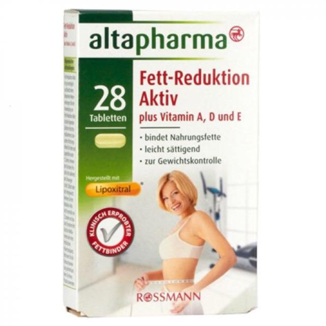 Viên uống giảm cân Altapharma Fett Reduktion Aktiv - 2864270 , 1247910279 , 322_1247910279 , 240000 , Vien-uong-giam-can-Altapharma-Fett-Reduktion-Aktiv-322_1247910279 , shopee.vn , Viên uống giảm cân Altapharma Fett Reduktion Aktiv