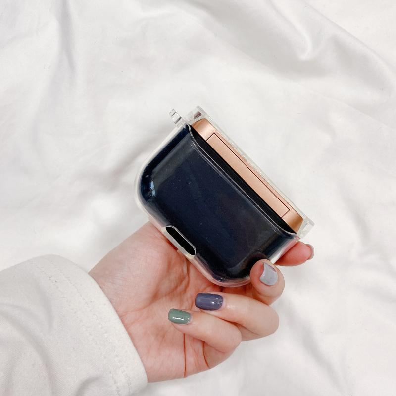 Hộp Đựng Tai Nghe Bluetooth Màu Trong Suốt Dành Cho Sony Wf-1000Xm3