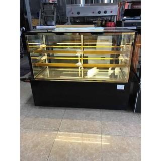 Tủ bánh kem 3 tầng kính vuông 1500mm