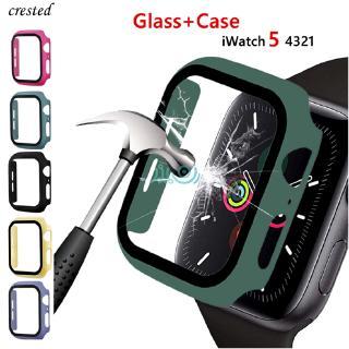 BUMPER Kính Cường Lực Bảo Vệ Mặt Đồng Hồ Apple Watch Series 5 4 44mm 40mm Iwatch 3 42mm 38mm Kèm Phụ Kiện