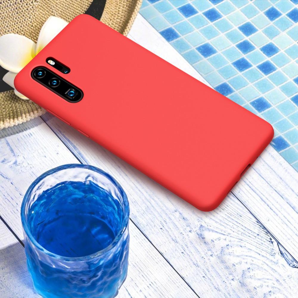 Ốp dẻo silicon màu trơn cho điện thoại Huawei P20 20Pro P20 lite P30 P30 Pro P30 lite Mate 20 20x 20Pro 20lite