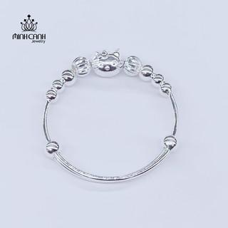 Lắc Bạc Mèo Hello Kitty Cho Bé Gái - Minh Canh Jewelry