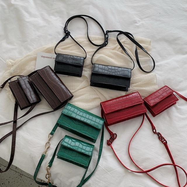 Túi xách đeo chéo Hàn Quốc nữ đẹp DARA DC66