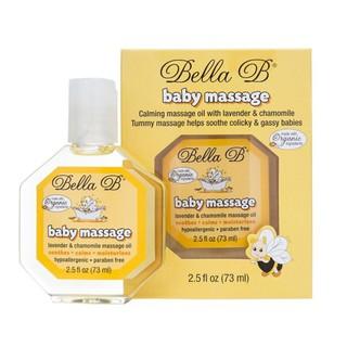 Dầu massage organic cho bé Bella B 73ml chai M492