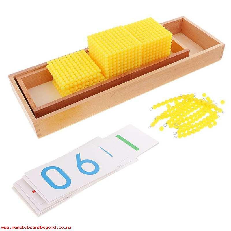 Giáo cụ Montessori - Trò chơi ngân hàng (Bank Game)