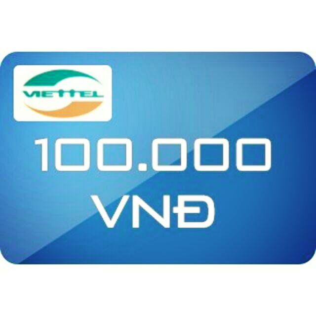 Nạp tiền Viettel 100k siêu rẻ